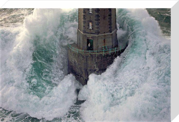 Phare de La Jument - The Lighthouse Keeper II Art Print by Jean Guichard   King & McGaw