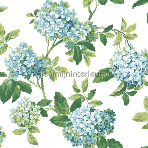 Hortensia behang 322340 | behang Lavender Dream van Eijffinger | kleurmijninterieur.nl