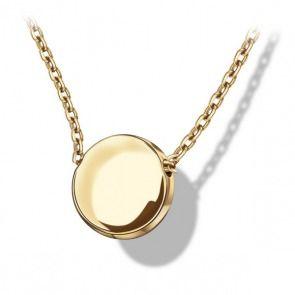 Złoty naszyjnik próba 333 - Biżuteria srebrna dla każdego tania w sklepie internetowym Silvea