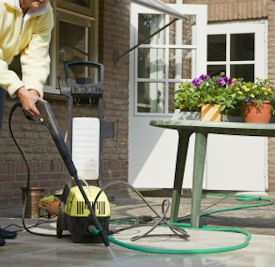 Rally the family and prep your patio for BBQ season! Follow these tips to remove tough stains and make your concrete sparkle.