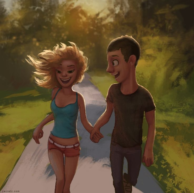 Romantic Illustrations by Zac Retz
