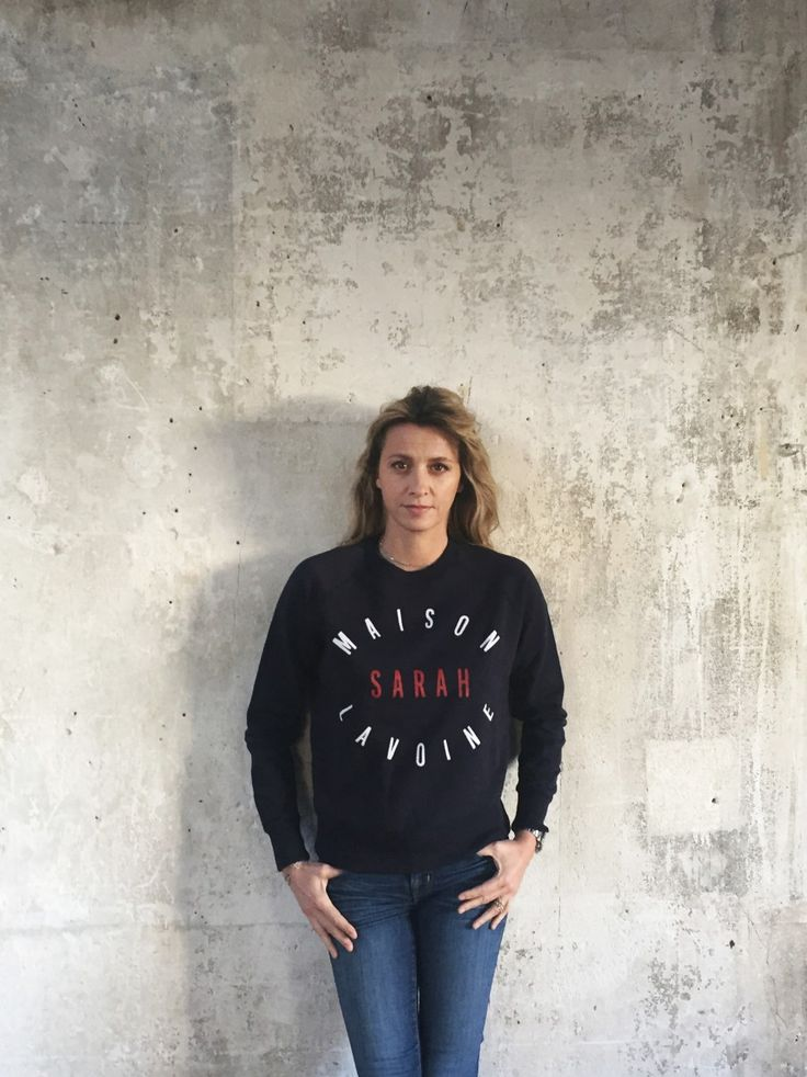 photo sweat shirt maison sarah lavoine lifestyle pinterest shirts sweat shirt and photos. Black Bedroom Furniture Sets. Home Design Ideas