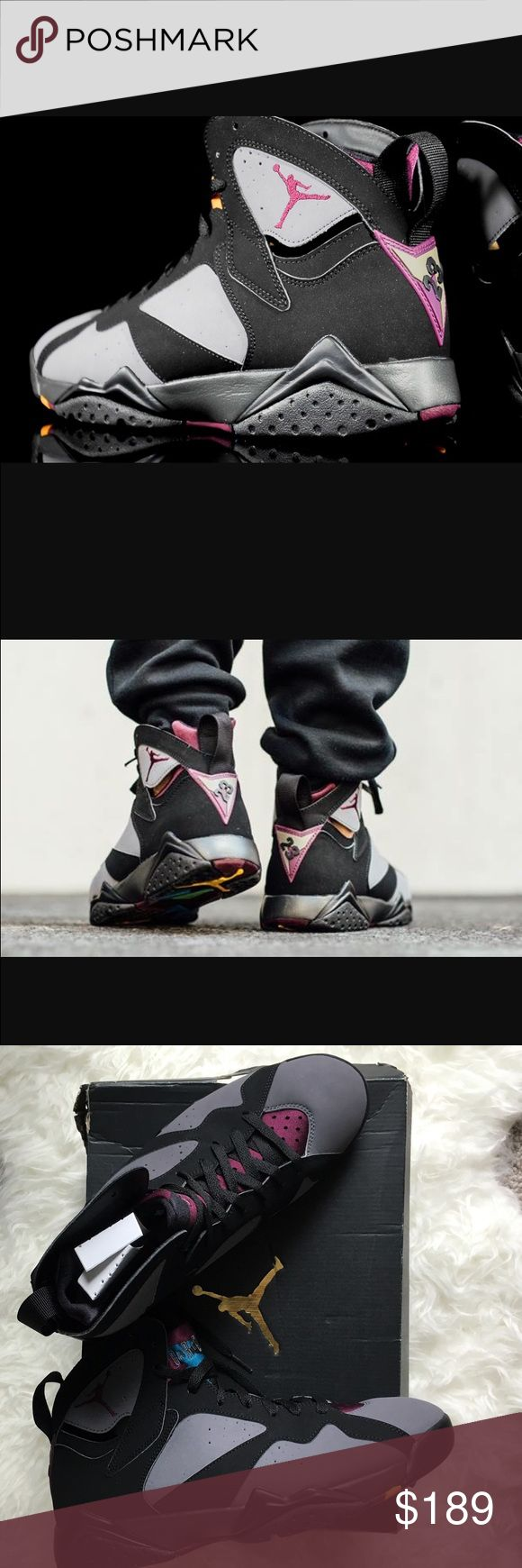 NIKE AIR JORDAN 7 RETRO MEN SHOES Brand new with original box. Nike Air Jordan 7 Retro Bordeaux men shoes. Nike Shoes