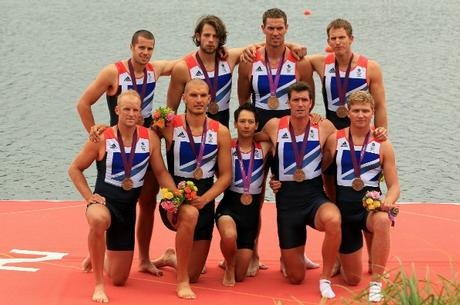 GB 8+ With their well earnt Bronze medals, sticking with Germany throughout the race, very good effort