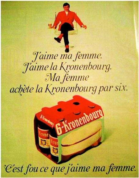 J'aime ma femme et j'aime la #kronenbourg