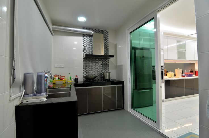 Perfect #wet #kitchen With #concrete Top. | Glass Kitchen With Concrete Top |  Pinterest | Concrete, Kitchens And Space Kitchen