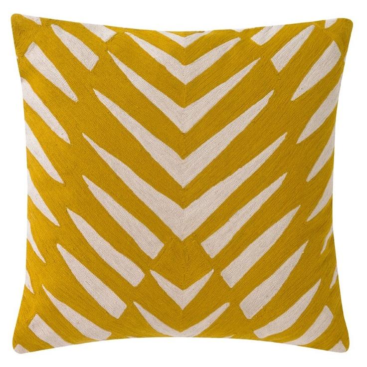 Dwellstudio Home Osa Mustard Pillow B90 Pinterest