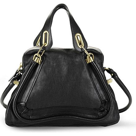 CHLOE Paraty medium shoulder bag (Black £1145