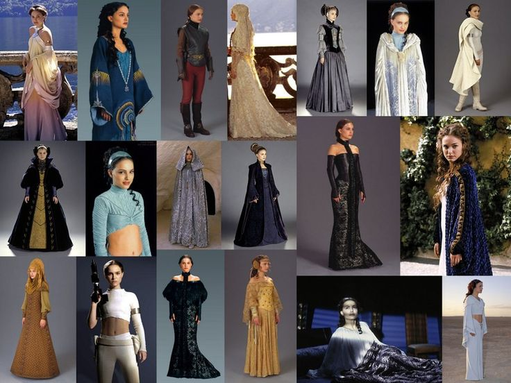 Re-Create one of Padme Amidala's outfits, wear it and re-enact the scene from Star Wars!