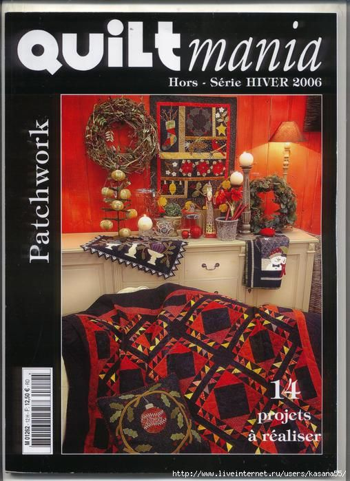 2006 81 pages great christmas quilts