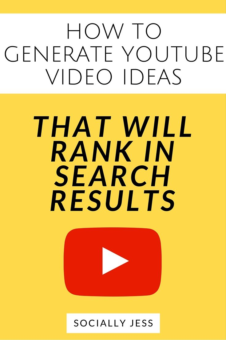 Learn how to brainstorm video ideas for your Youtube channel that will rank well in Youtube's search engine. Creating search-engine-friendly Youtube videos increases your visibility on Youtube, increases views on your videos, and will also help to increase subscribers. This post includes a free worksheet to help you generate 50+ optimised video ideas for your own Youtube channel.