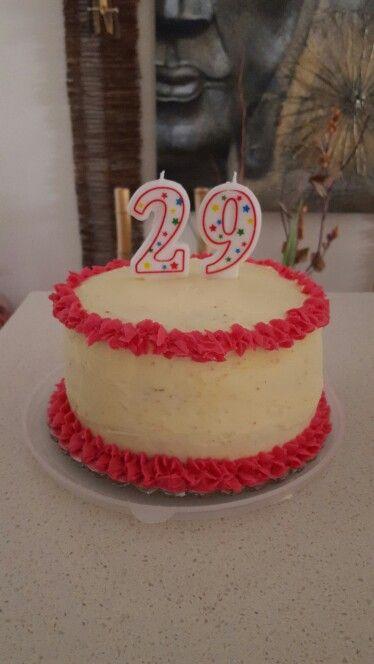 3 layer red velvet cake