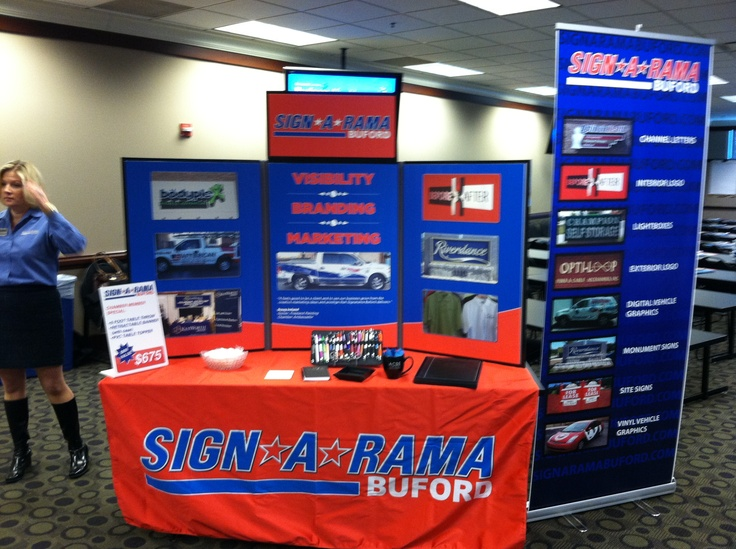 Our own Trade booth we put together. We use it at the Gwinnett Chamber events we sponsor.