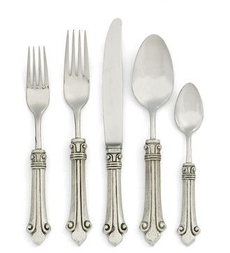 Giglio 5-Piece Place Setting farmhouse dinnerware sets