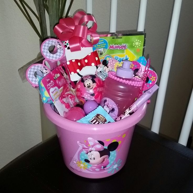 The 25 best pre made easter baskets ideas on pinterest kid minnie mouse pre filled easter basket gift disney minniemouse minnie girl negle Image collections