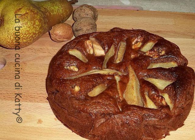 La buona cucina di Katty: Torta di pere ricotta senza grassi gluten free - Cake Cheesecake pears nonfat, gluten free
