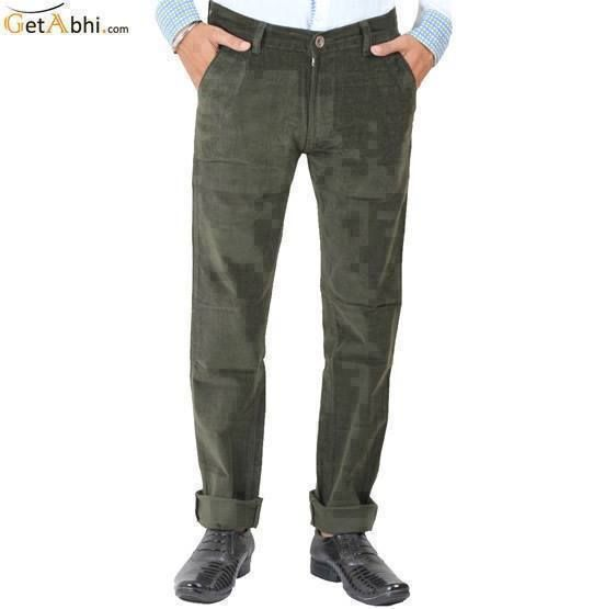 Buy Green Cortrise Stretchable Jeans Online at GetAbhi.com