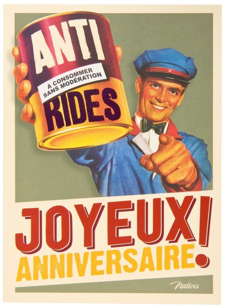 carte-postale-anniversaire-anti-rides-natives-deco-retro-vintage-humoristique.jpg (1000×1355)