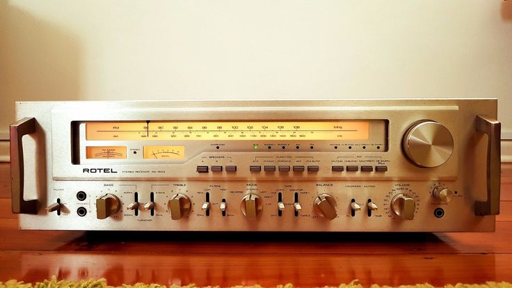 Rotel RX1603 (Monster stereo receiver / 180 WPC) | eBay