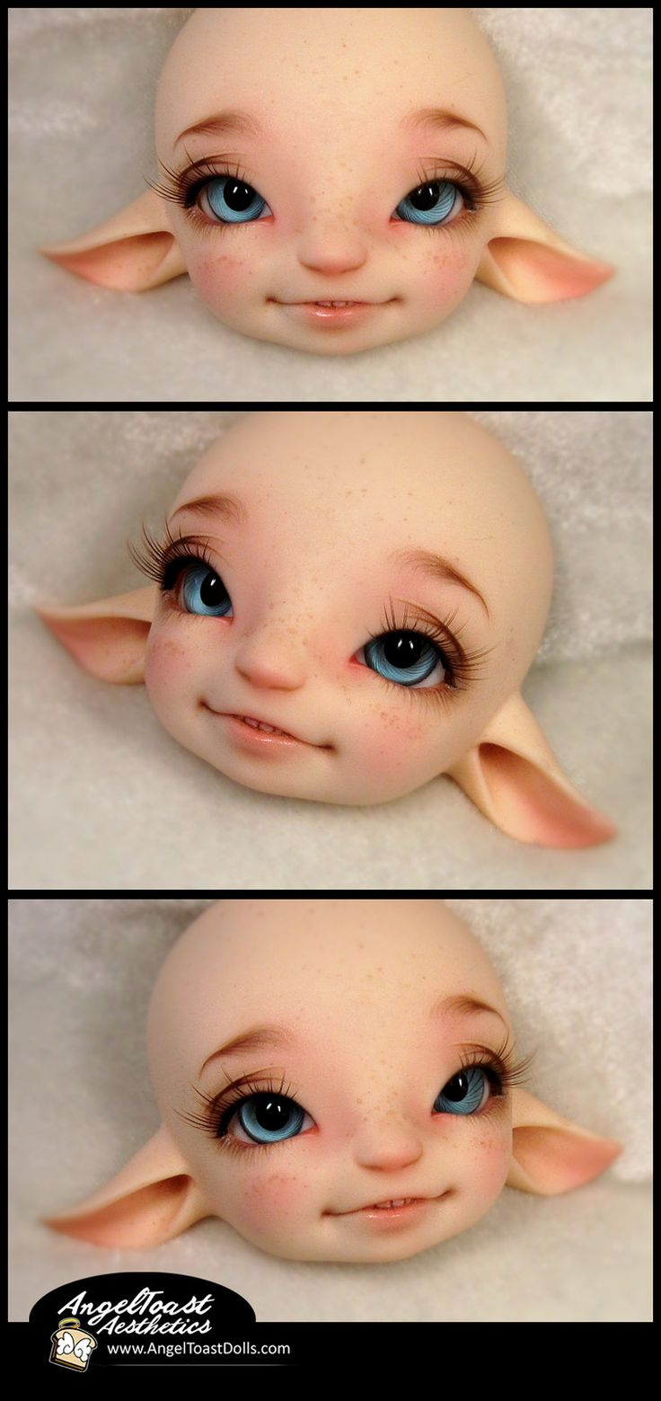 https://flic.kr/p/yADZz6 | New Face! | Briar was adorable blank. But OMG I can't even handle how cute she is now with her faceup! She is exactly what I wanted. <3 Photo by Angeltoast and shared with permission.
