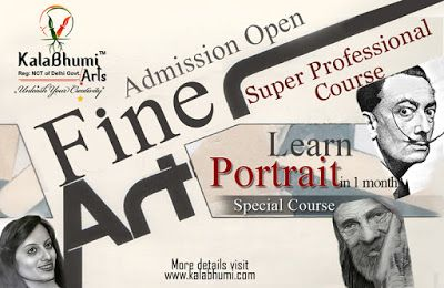 Lear Portrait in 1 month at Kalabhumi Arts...