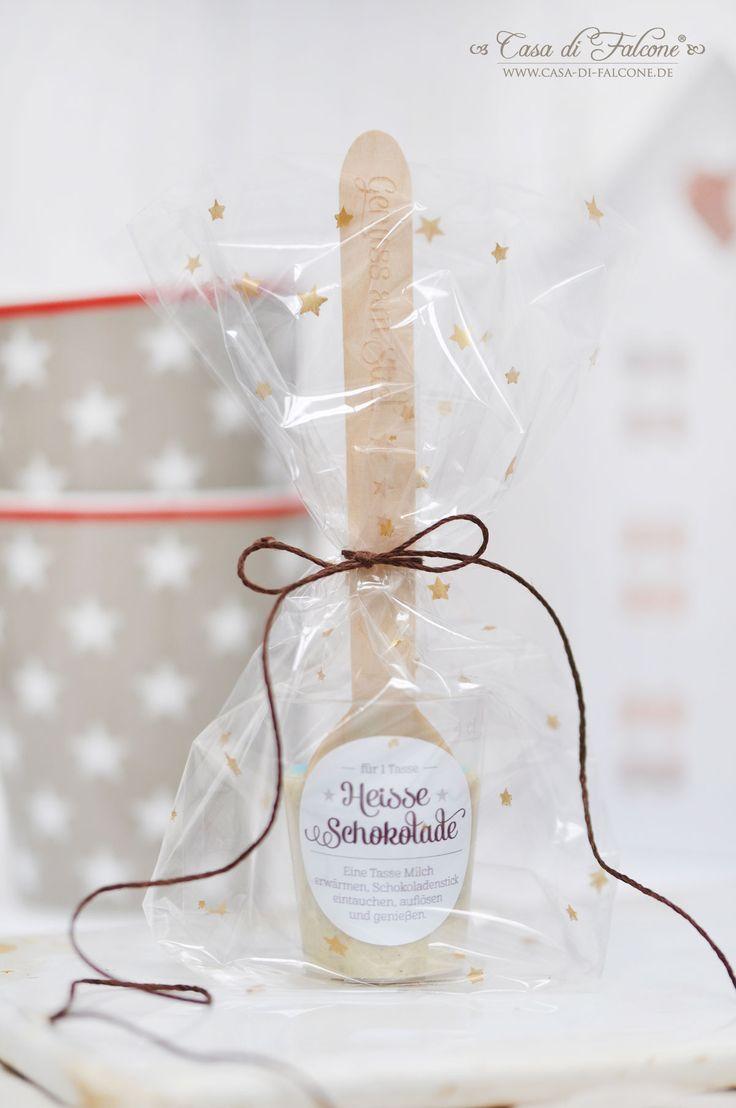Heisse Schokolade Rezept & Verpackungsidee I Casa di Falcone