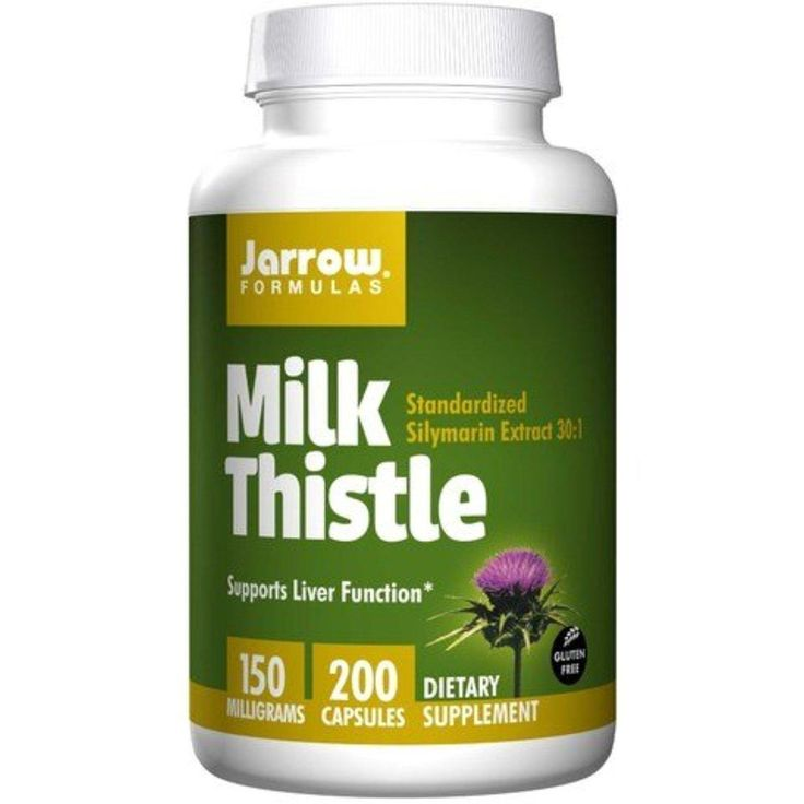 Jarrow Formulas Milk Thistle Standardized Silymarin Extract 30:1 Ratio, 150 mg per Capsule, GoodSet 200 (Pack of 3) - Brought to you by Avarsha.com