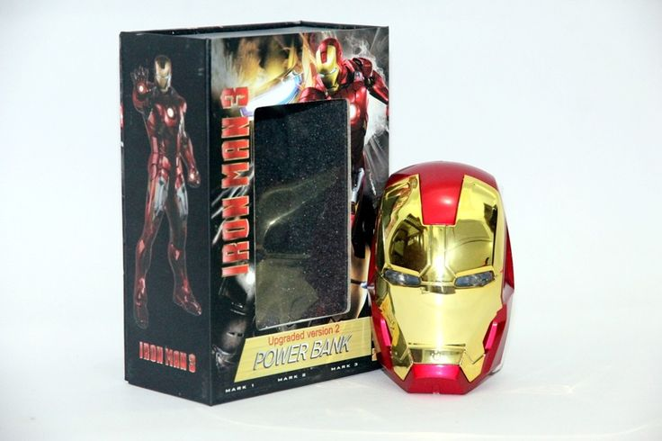 Power Bank Iron Man Rp 240.000