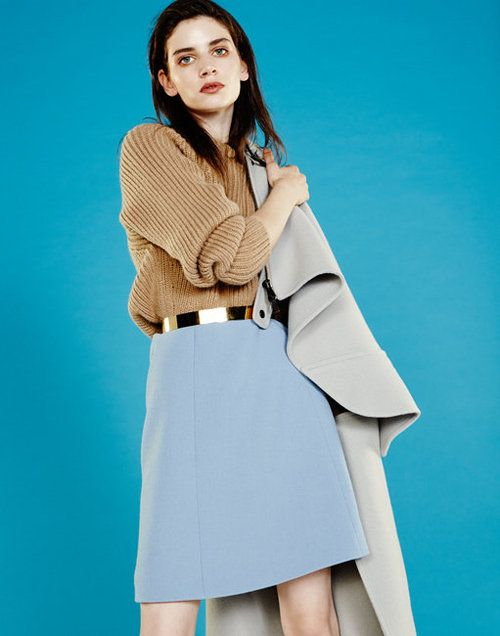 these colors! Oyster Fashion: 'Transition' Shot by Mitsuaki