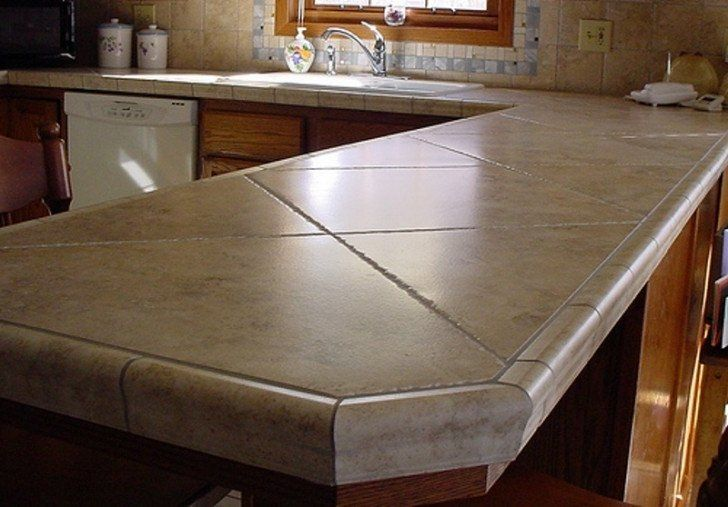 Image Result For Tile Countertops Outdoor Kitchen Countertops