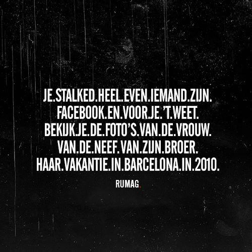 Stalked FB #rumag