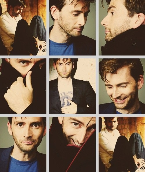 I like him better as the doctor. But being just plain old David Tennet is cool too. I guess