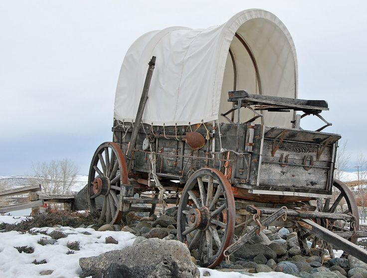 Old Covered Wagons | The Rush Blog