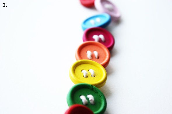 DIY Button Belt - Morning Creativity