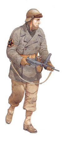 Comando, Cuerpo Francés Pommiés, 49º Regimiento de Infantería.