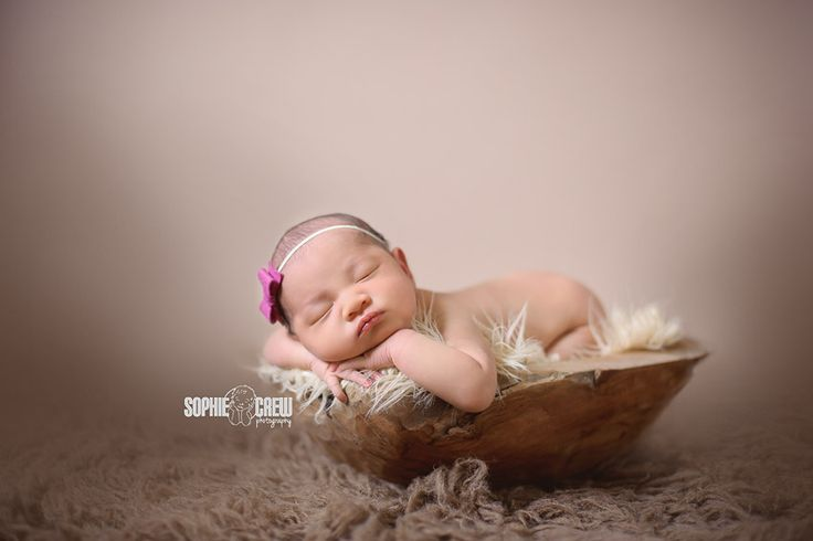 La jolla newborn girl photographer
