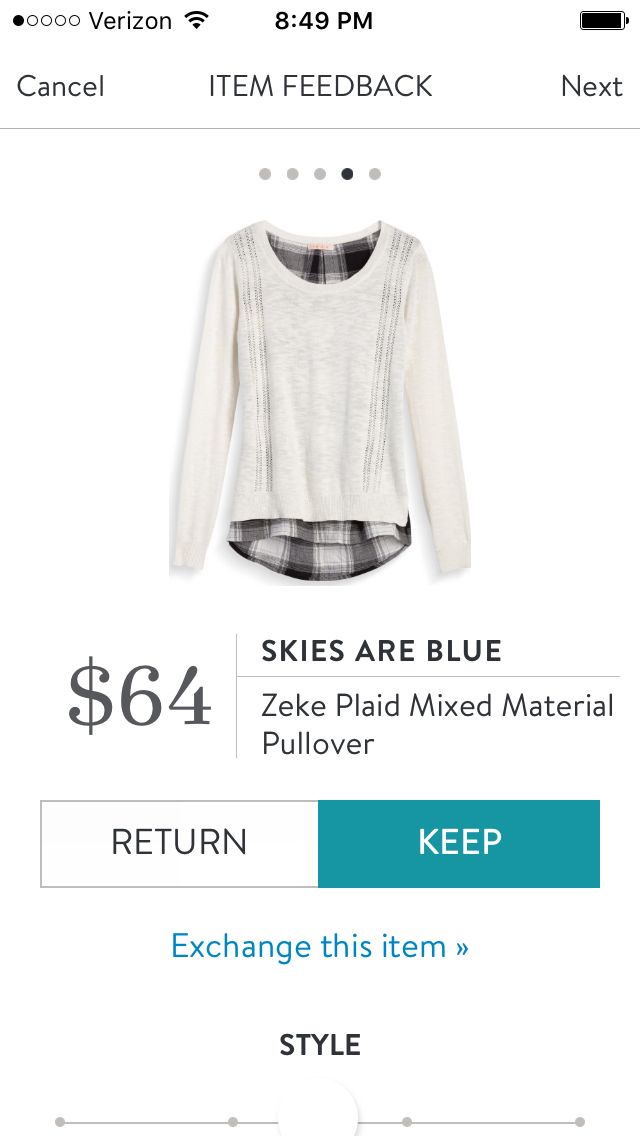 I love Stitch Fix! A personalized styling service and it's amazing!! Simply fill…