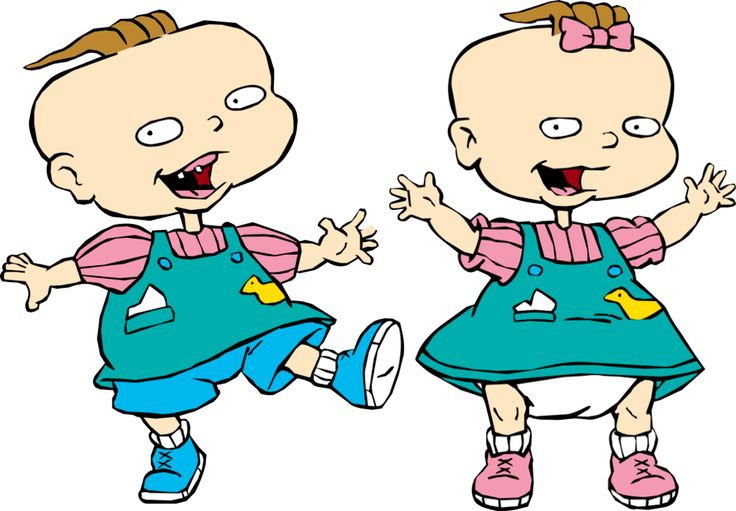 rugrats phil and lil - Google Search
