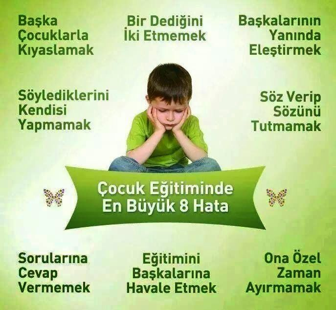 mutlu anne babalar mutlu çocuklar: Çocuk Eğitimindeki Hatalar....