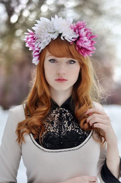 Love her ginger hair!