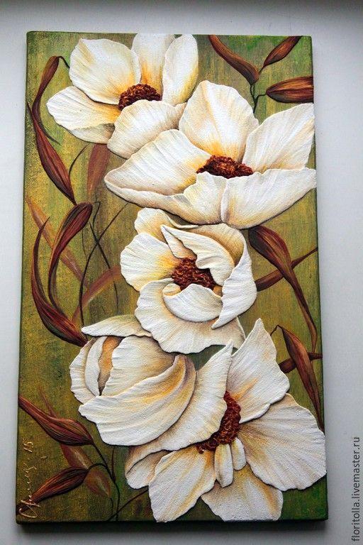 Volume Fresco White Flowers