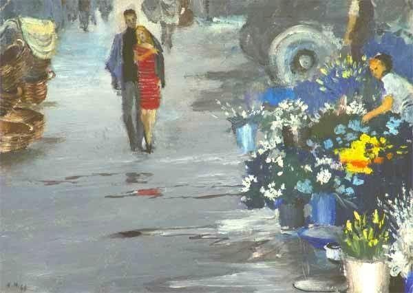 Юрий Пименов. Утро нового дня. 1964