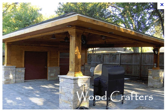 12 best images about carport on pinterest timber posts for Brick carport