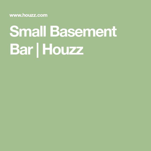Home Bar Design Ideas Houzz: Small Basement Bars, Small