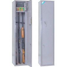 ОШН-3 - односекционный оружейный сейф (шкаф) на 3 ружья высотой до 1360 мм.
