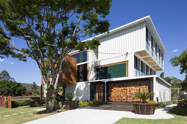 17 best images about house to build on pinterest new zealand brisbane and house - Container homes queensland ...