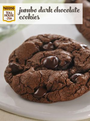 Jumbo Dark Chocolate Cookies