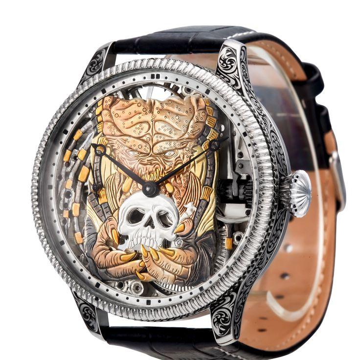 This watch is total craziness! 😱  #wristwatch #watch #timepiece #handmade #art #handcrafted