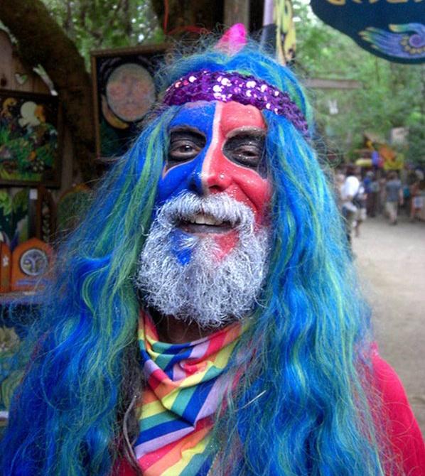 Rainbow Hippie!