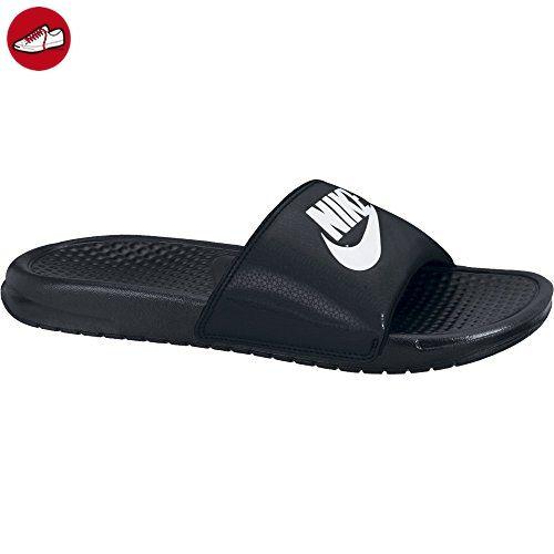 Nike Unisex-Erwachsene Benassi Jdi Dusch-& Badeschuhe, Schwarz (Black/White), 46 EU (*Partner-Link)